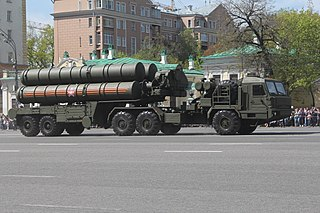 S-400 missile system Type of Mobile surface-to-air missile/anti-ballistic missile system