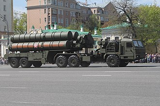 S-400 missile system - S-400 Triumph launch vehicle