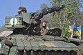 Танкісти танкового батальйону «Звіробій» провели тренування з бойової готовності в районі АТО (29006364363).jpg