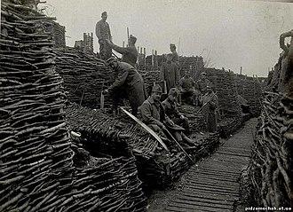 Strypa River - Image: Фортифікаційні споруди фронту по Стрипі, 1914 1918