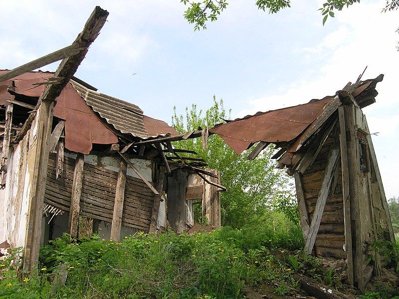 Місце, де знаходився будинок, в якому з 1873 по 1882 рр. періодично проживав М.С.Грушевський, Сестринівка, Вінницька область. Автор Михайло Потупчик, вільна ліцензія CC BY-SA 4.0