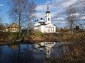 Церковь Николая Чудотворца на берегу Староладожского канала.jpg