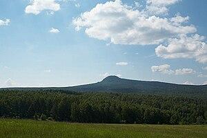 Beryozovsky District, Krasnoyarsk Krai - Chernaya Sopka (an extinct volcano), Beryozovsky District