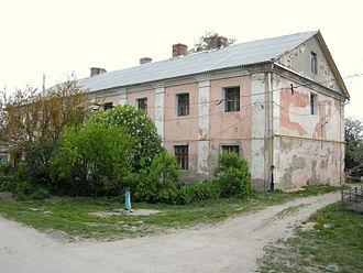 Iziaslav, Ukraine - Image: Шпиталь заслав