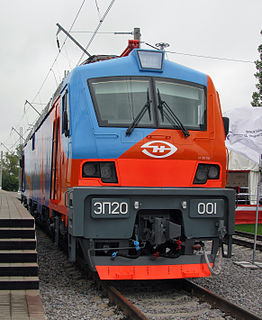 EP20 class of Russian electric locomotives, built from 2011