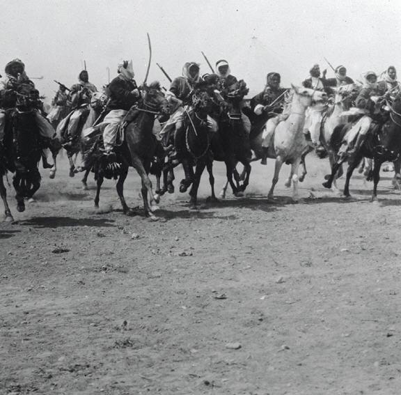 לוחמים בדואים רכובים על סוסים בגליל-JNF022262.jpeg
