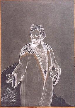 سعدی اثر حسین بهزاد