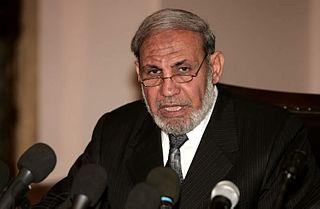 palästinensischer Mitbegründer und Sprecher der Hamas