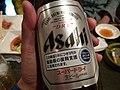 スーパードライ この商品1本につき1円が福島県の復興支援に活用されます。 2012 (6955442406).jpg