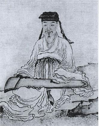 Zhou Lianggong - Zhou Lianggong's portrait