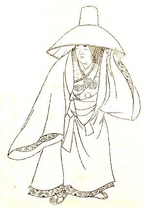 Izumi Shikibu (和泉式部, ?-976?) was a mid Heian p...
