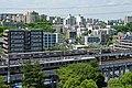 多摩ニュータウンを走る京王線と小田急線150624.jpg