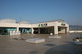Shinonoi Station Railway station in Nagano, Nagano Prefecture, Japan