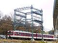 近鉄南大阪線 二上山-上ノ太子間にて Kintetsu Minami-Ōsaka line 2012.2.12 - panoramio.jpg