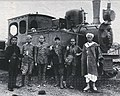 0-4-0T-Locomotive of the Nador-Tistutín railway produced by Henschel & Sohn in 1918.jpg