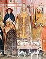 01 Innocent VI, Gil Albernoz & Charles IV (au premier plan, Simone Saltarelli, archevêque de Pise, Césène et Occam).jpg