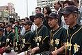 04.06 總統視察「新竹市立棒球場」,前往內野區觀看成德高中棒球隊選手練球,並致贈簽名球棒 (33486487540).jpg