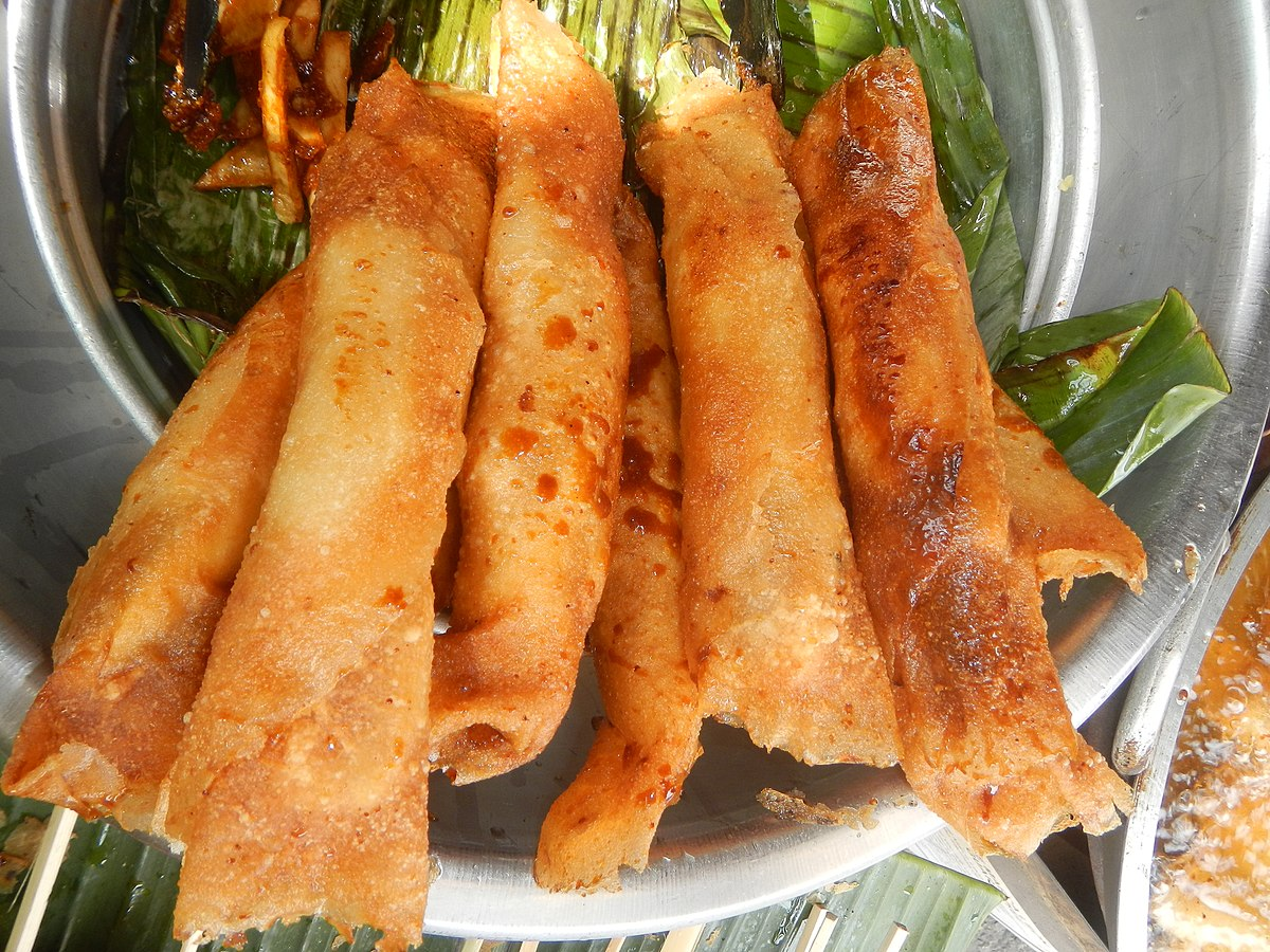 Philippine Food Turon (food) - Wikiped...