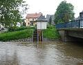 07 - Wisenta-Pegel Möschlitz bei Hochwasser 2013.jpg