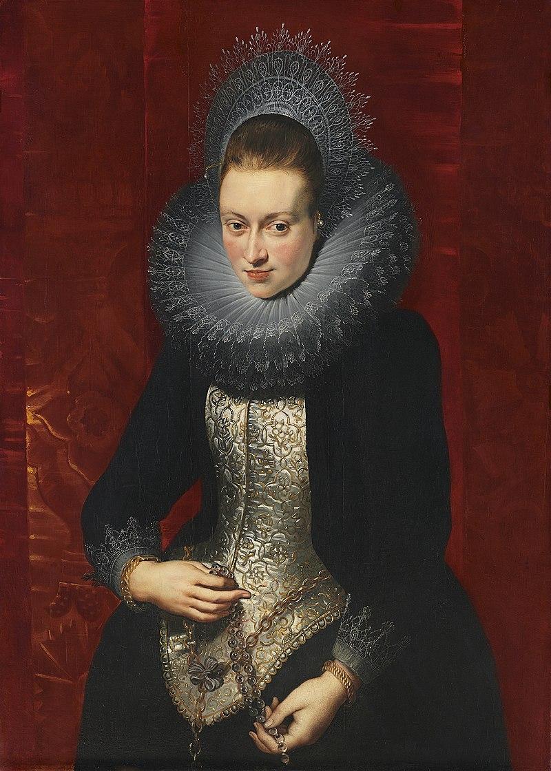 0 Portrait d%27une jeune femme avec un rosaire - P.P. Rubens - Mus%C3%A9e Thyssen-Bornemisza (2).JPG