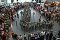 100 Indiana Guard Soldiers return to Indianapolis airport.jpg