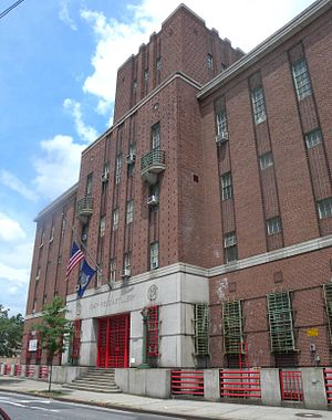 New York Guard - 104th Field Artillery Armory