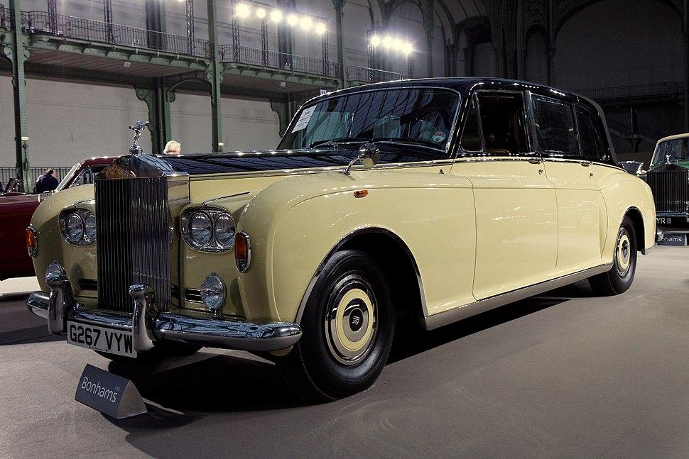 110 ans de l%27automobile au Grand Palais - Rolls-Royce Phantom VI Landaulette - 1992 - 001