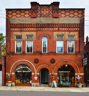 Ashtabula Harbour Commercial District United States historic place