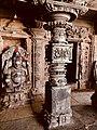 11th century Panchalingeshwara temples group, Kalyani Chalukya, Sedam Karnataka India - 10.jpg