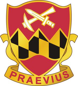 121st Engineer Battalion (United States) - Image: 121En Bn DUI