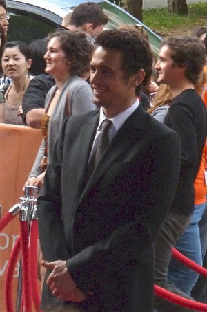 James Franco - Franco at the premiere of 127 Hours.