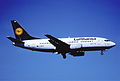 134ap - Lufthansa Boeing 737-530; D-ABJE@ZRH;23.06.2001 (5887668665).jpg