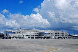 Naha Airport - International terminal building