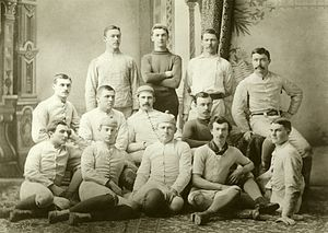 1883 Michigan Wolverines football team - Image: 1883 Michigan Wolverines football team
