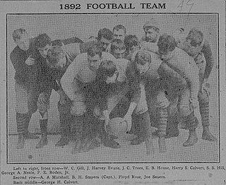 1892 Western University of Pennsylvania football team American college football season