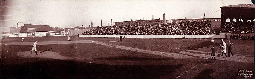 1903 Boston vs Chicago at Huntington Avenue Grounds
