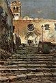 1904, Álbum Salón, Iglesia parroquial de Blanes (Cataluña), Juan Roig Soler (cropped).jpg