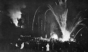 Bohemian Grove - Cremation of Care in 1907