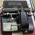 1918 AEG Zeigerschreibmaschine Special anagoria.JPG