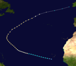 1936 Atlantic hurricane 10 track.png