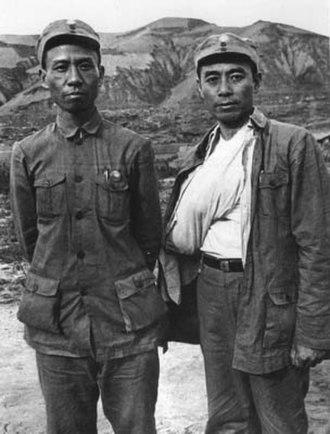 Liu Shaoqi - Liu Shaoqi and Zhou Enlai, 1939
