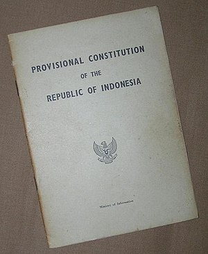 Provisional Constitution of 1950 - The official translation of the 1950 provisional Constitution