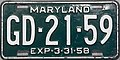 1957-58 Maryland License Plate.JPG