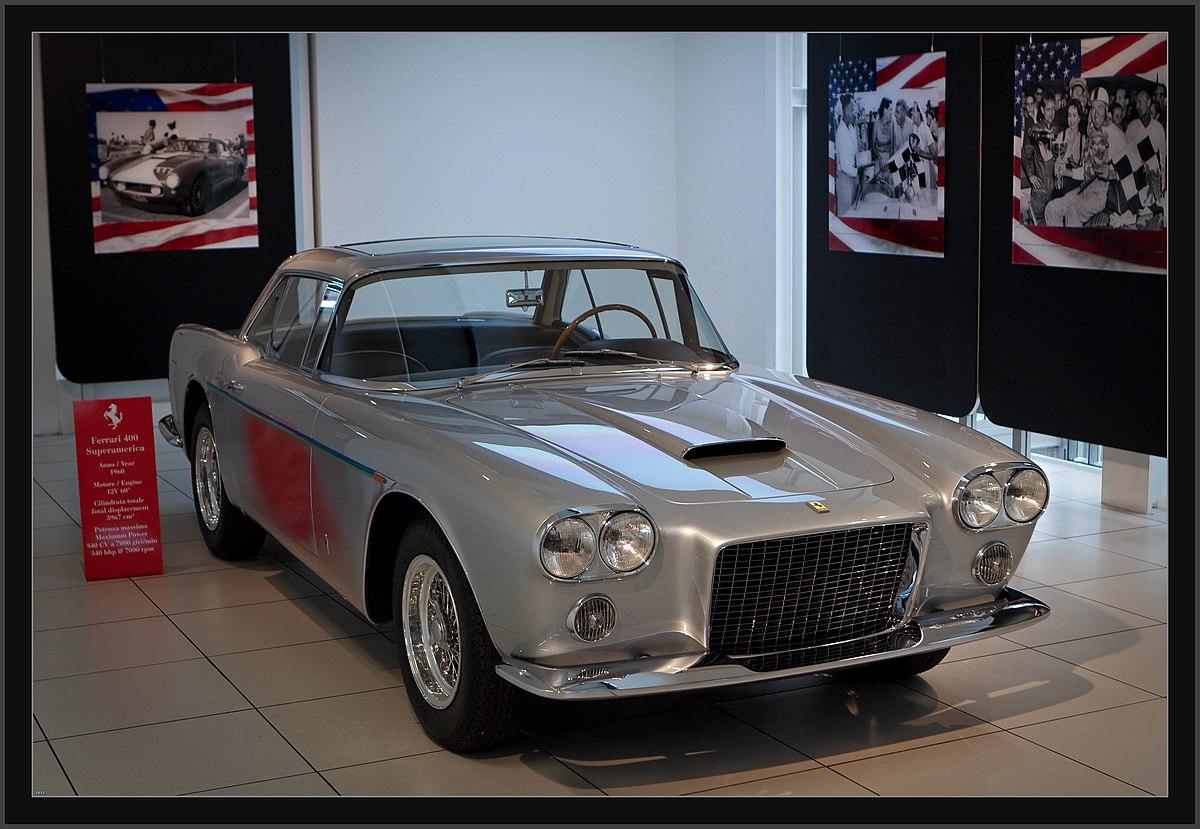 Ferrari California T >> Ferrari 400 Superamerica - Wikipedia