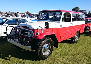Toyota Land Cruiser - 1963 Toyota Land Cruiser Station Wagon (FJ45)