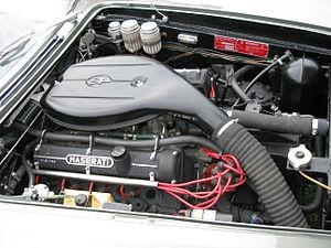 Maserati Quattroporte - Quattroporte 4200 V8 engine