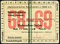 1968-69 Dauer-Ehrenkarte Tribüne überdacht Hannoverscher Sportverein v. 1896 e.V., Adressseite Fritz Deike Lisbethstraße 8 Niedersachsen-Stadion Unterschrift Präsident Punktspiele Freundschaftsspiele Intertoto.jpg