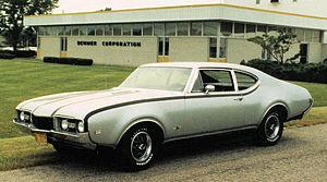 Oldsmobile Hurst/Olds - 1968 Hurst/Olds Club Coupe at Demmer