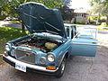 1975 Volvo 164E hood open.jpg