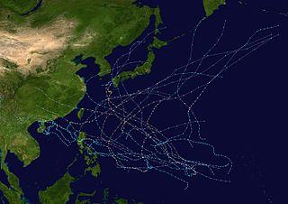 1976 Pacific typhoon season typhoon season in the Pacific Ocean